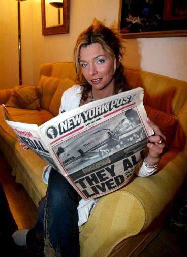 """OTROLIG TUR 1992 överlevde """"Expedition: Robinson""""-deltagaren Mariana """"Mirre"""" Dehlin mirakulöst en flygkrasch i New York. """"Jag var så himla glad att jag faktiskt levde"""", säger hon."""