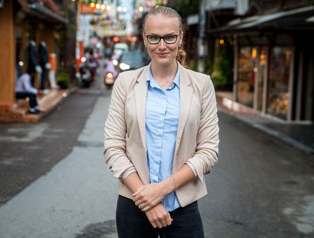 – Det är väldigt invandrarfientligt, säger Filippa Fernqvist, 25.