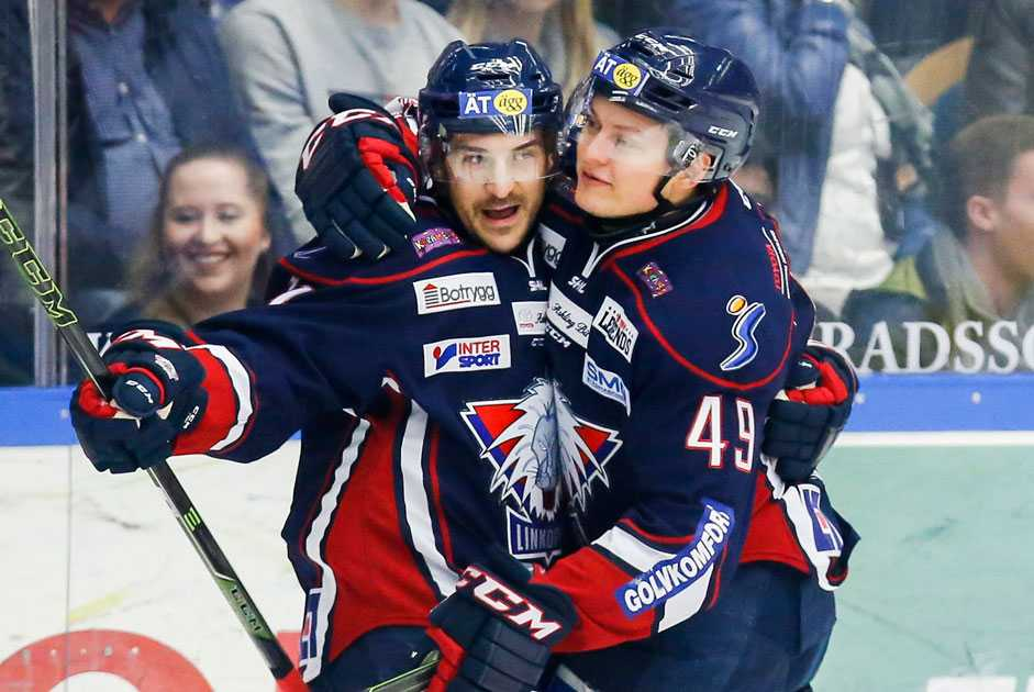 Linköping spelar kvartsfinaler mot Växjö.
