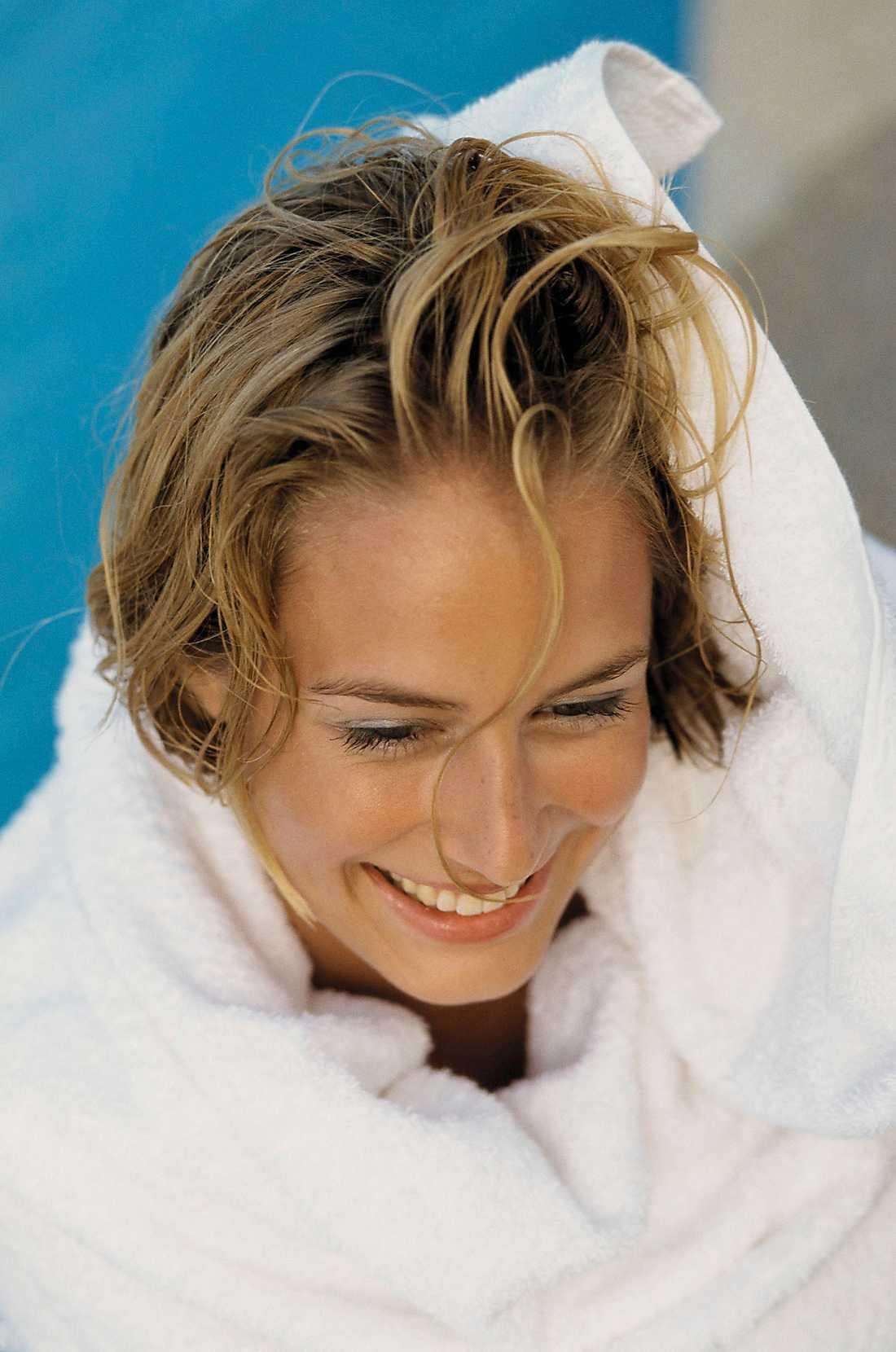 Överdoserade du håroljan? Släng fram handduken!