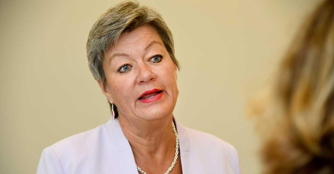 Ylva Johansson är ny migrations- och inrikeskommissionär i Europaparlamentet.
