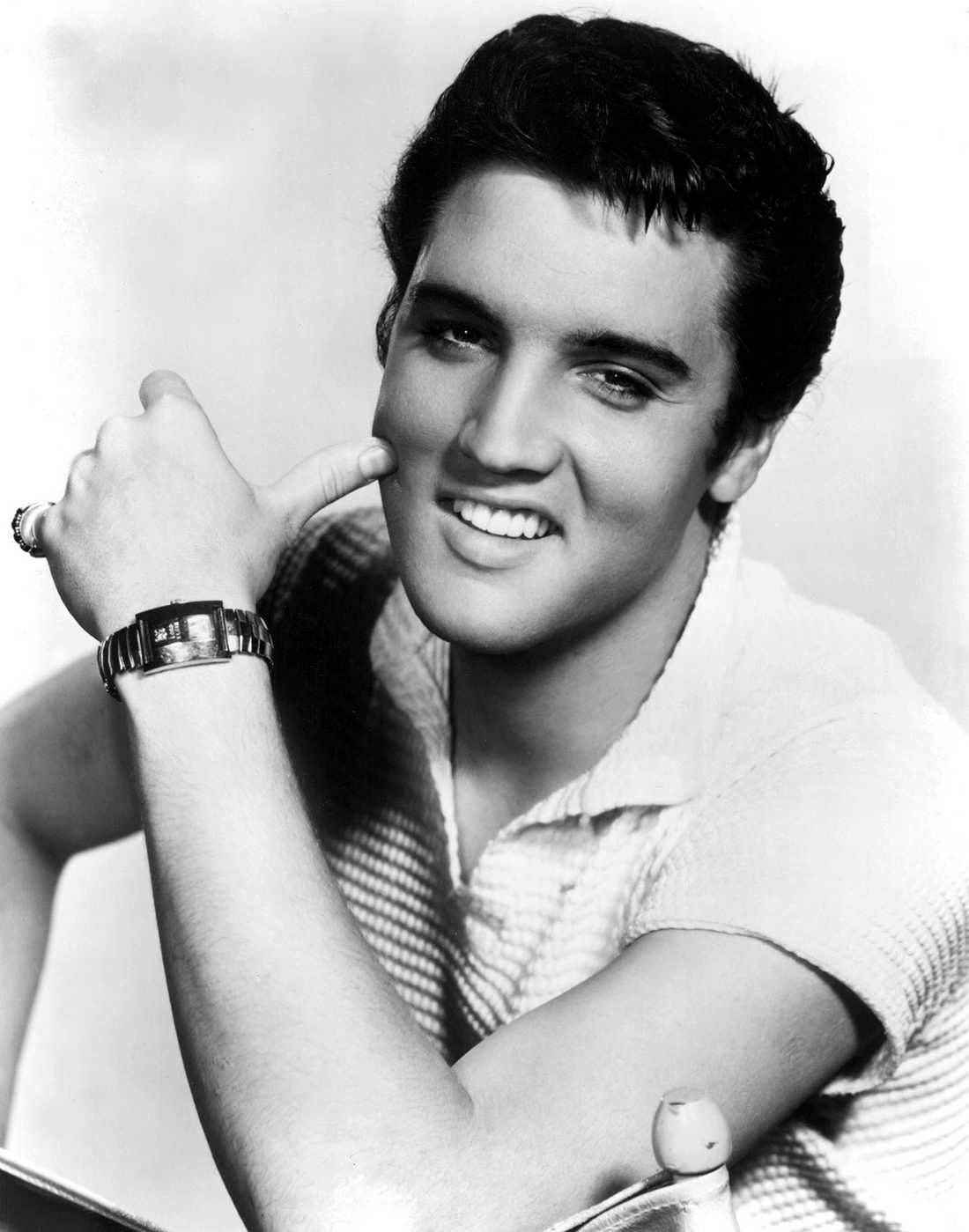 Elvis på en bild från 1957.