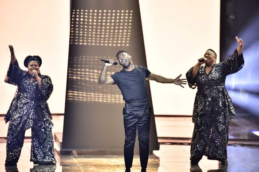 John Lundvik vinner Eurovision song contest.