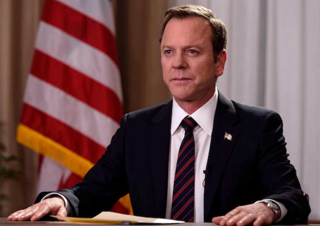 """9. Kiefer Sutherland i """"Designated survivor"""". Årets nionde bästa tv-serie säger hur dum samtiden blivit, enligt Virtanen."""