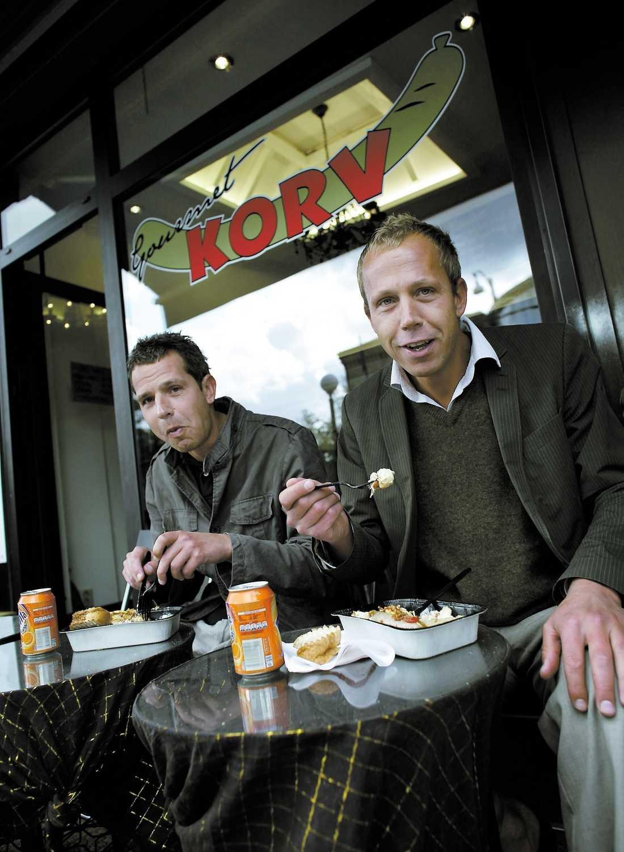 äkta vara På Gourmetkorvmojen i Göteborg satsar man på råvarorna – och stammisarna strömmar till.