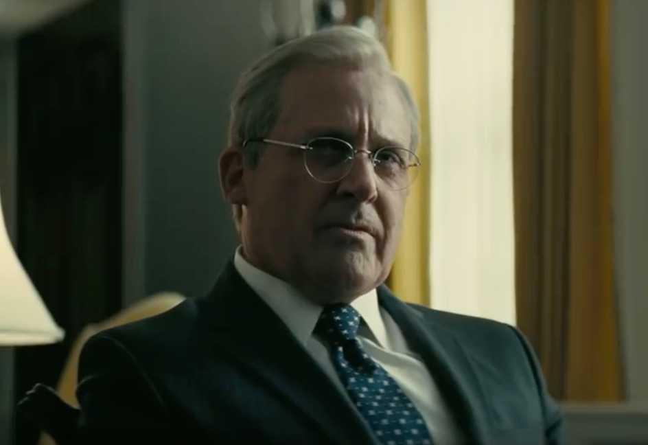 Steve Carell som Donald Rumsfeld.