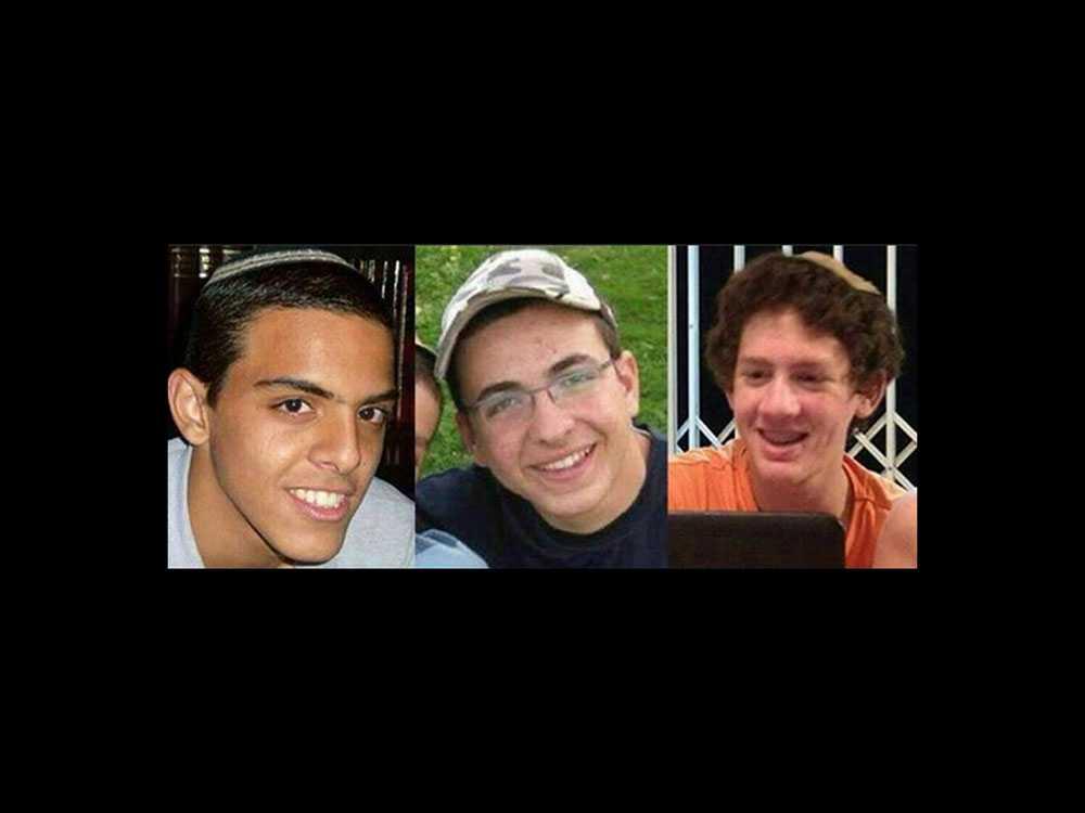 Den 12 juni förs tre tonårspojkar, Gilad Shaar, Naftali Fraenkel och Eyal Yifrah, bort när de liftar på Västbanken. Israel anklagar Hamas för att ligga bakom kidnappningen.