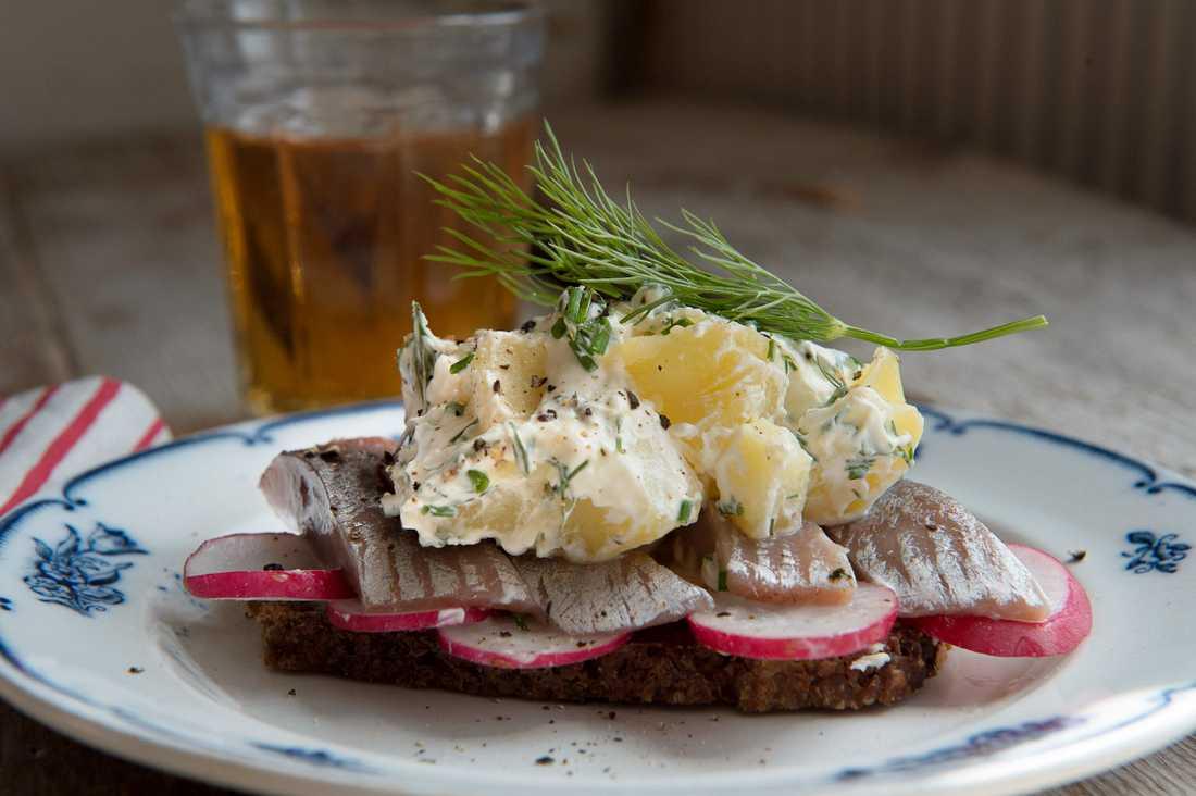 Kanske blir det smörrebröd för några av de danskar som besöker restaurang nästa vecka. Arkivbild.