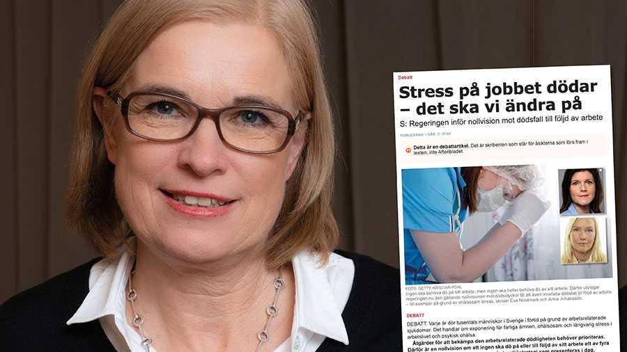 Stressrelaterad psykisk ohälsa är en sjukdom som går att förebygga. Tyvärr saknas i stor utsträckning konkreta reformer i regeringens nya arbetsmiljöstrategi. Replik från Anna Hemlin, Hjärnfonden.