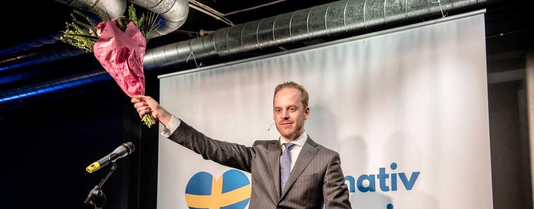 Alternativ för Sveriges ledare Gustav Kasselstrand