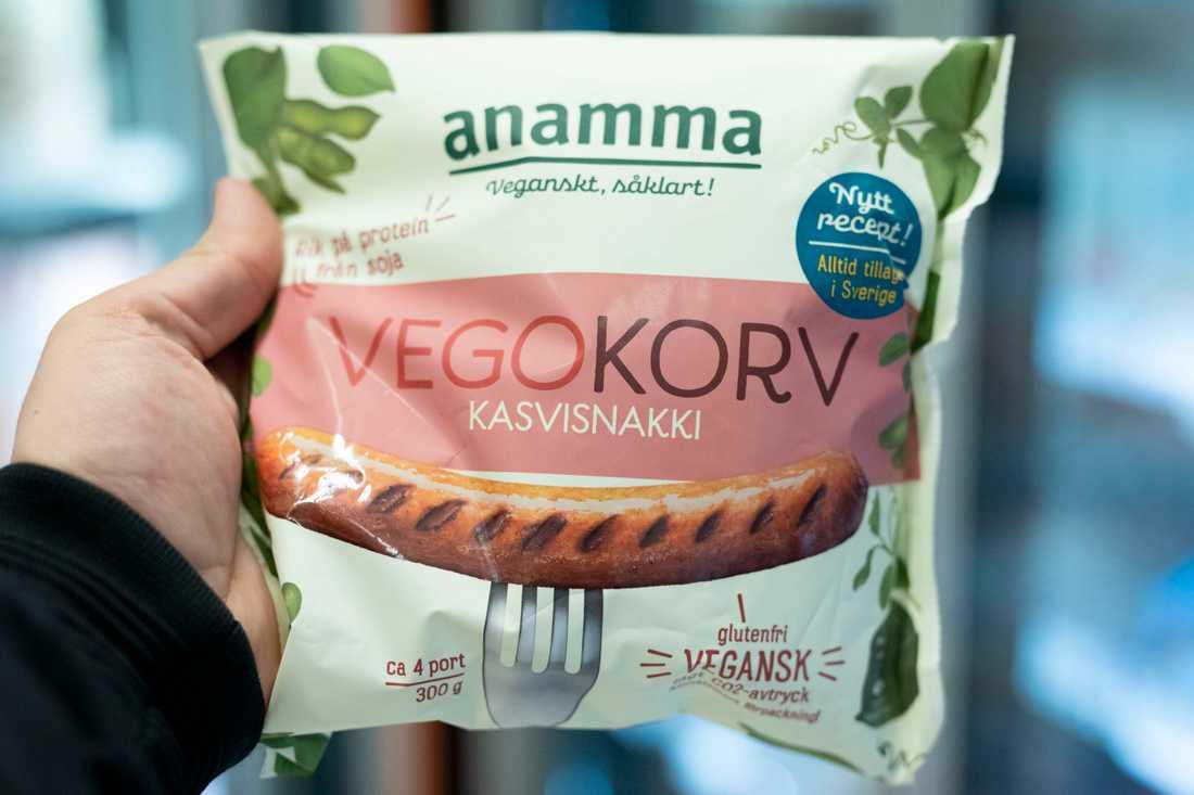 Försäljningen av vegoprodukter har rusat i matbutikerna. Arkivbild.