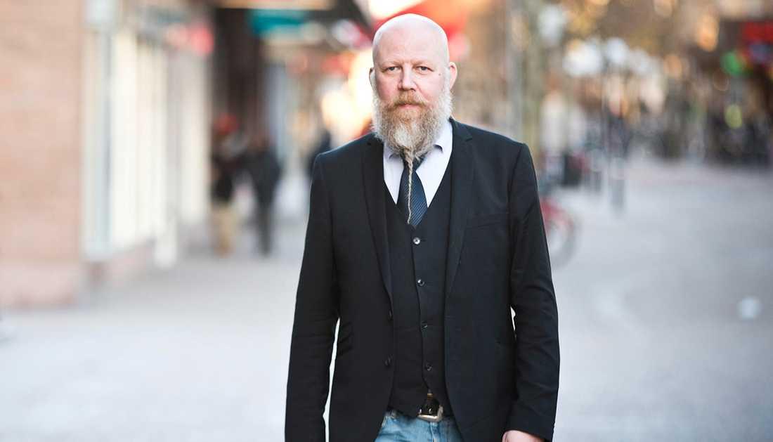 Daniel Nordström, chefredaktör på Mittmedia.
