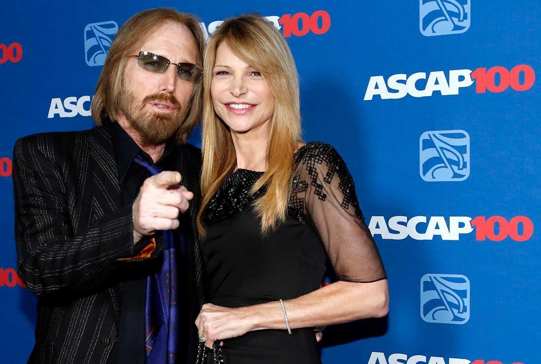 Petty tillsammans med sin fru Dana York på ASCAP Pop Music Awards i California, april 2014.