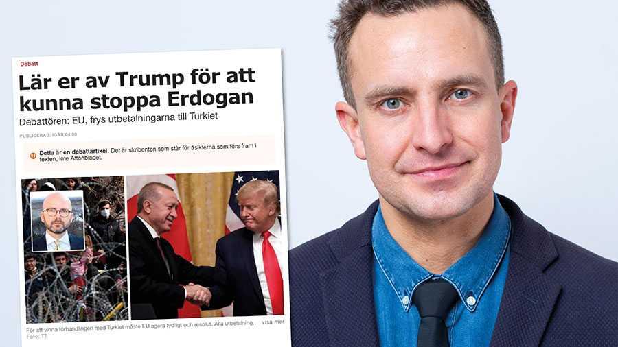 SD:s Charlie Weimers drömmer om att Trumps och Putins machopolitik ska styra världen. Politiska ledarskap jag inte vill se i Europa, skriver Tomas Tobé.
