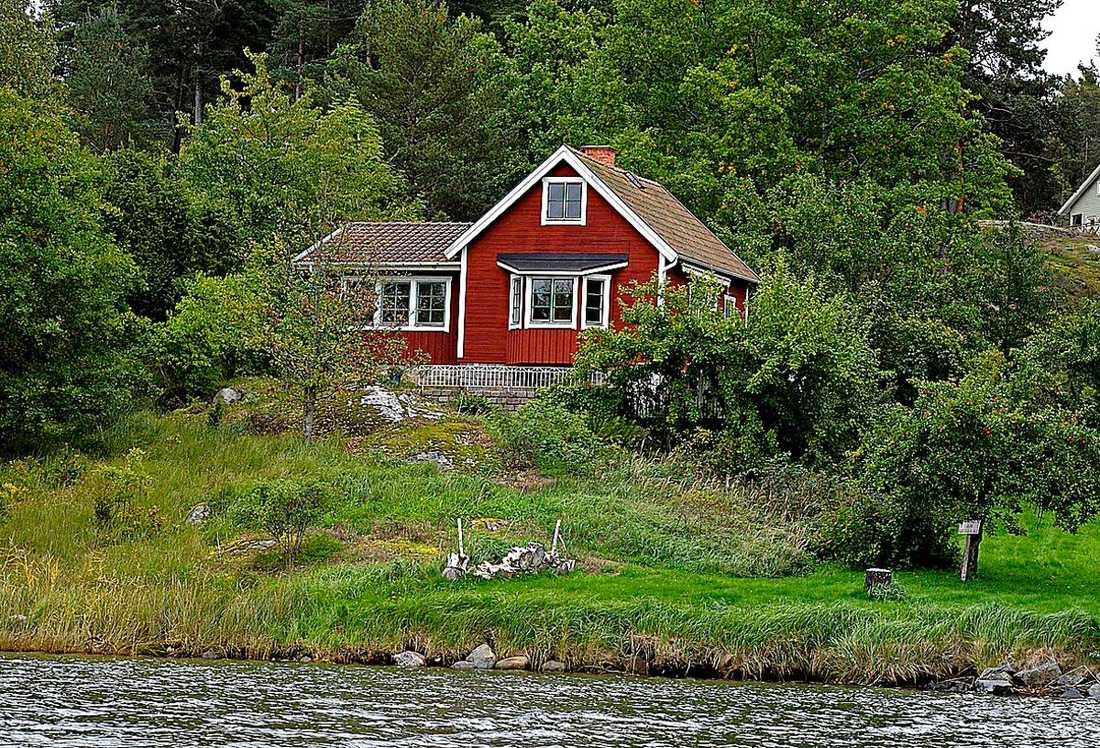 Fritidshuset på Ingarö.