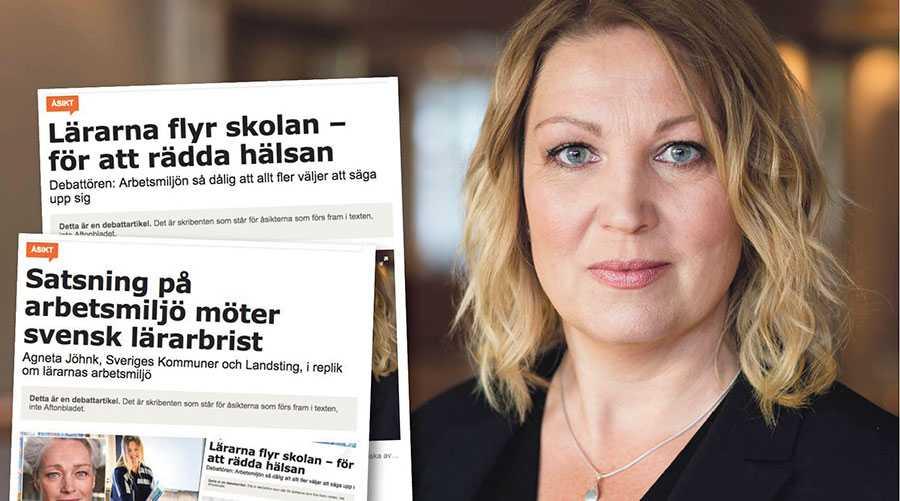 I sin iver att framstå som attraktiva är det kanske lätt hänt för arbetsgivarsidan att relativisera lärares arbetsmiljöproblem och sjukfrånvaro, skriver Johanna Jaara Åstrand.