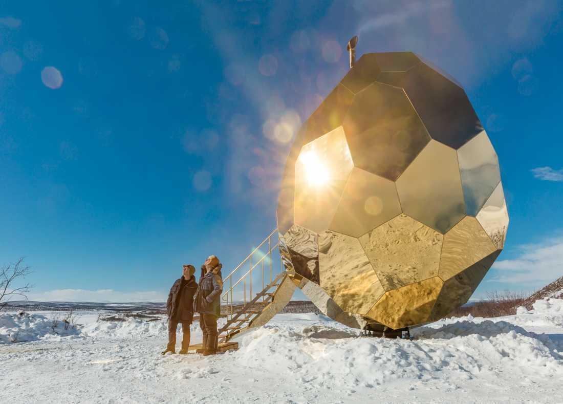 Solar Egg är en speciell bastu.