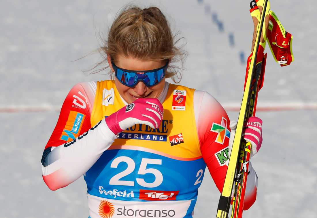 Mari Eide känslosam efter sitt VM-brons.