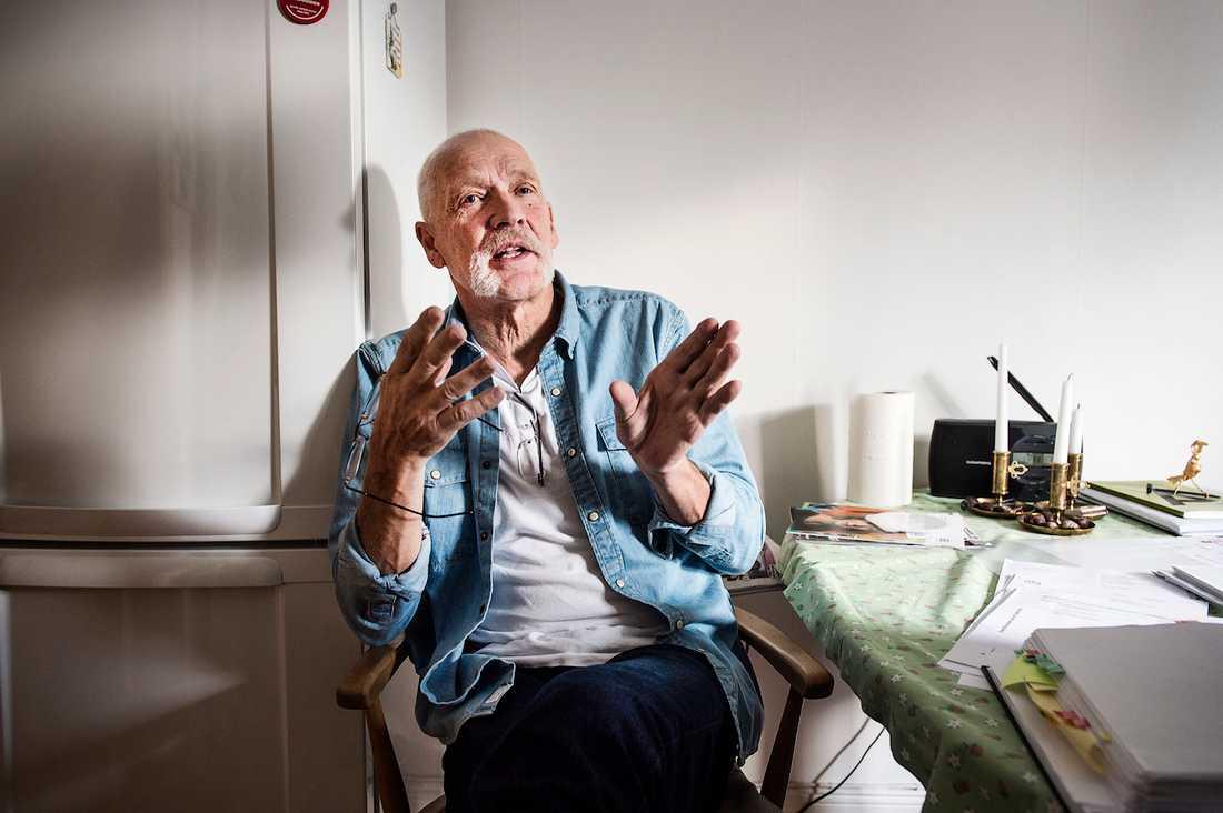 """""""AFA lurar arbetsskadade på livränta"""", säger Leif Kåvestad, 72, som efter fem år fick rätt mot  försäkringsjätten AFA och sedan hjälpt fyra arbetsskadade att få livränta."""