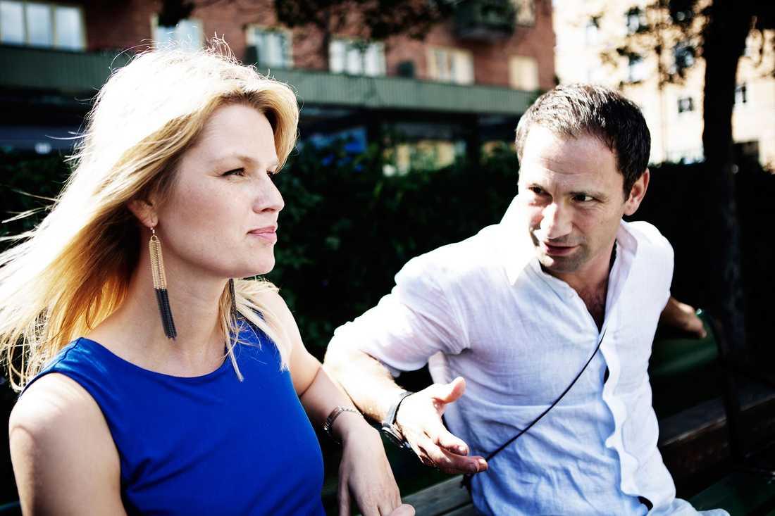 Paolo Roberto med exfrun Lena.