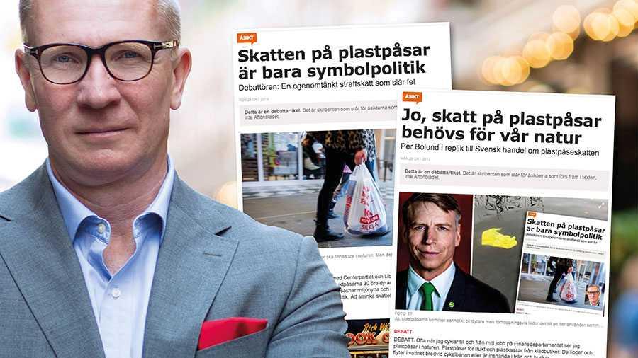 I stället för att sträcka ut en hand och arbeta tillsammans med handeln införs nu en skatt med minst sagt diffusa miljöeffekter. Det är djupt olyckligt, skriver Mats Hedenström.