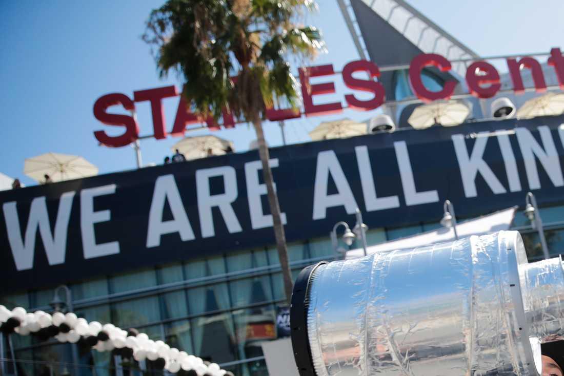 LA Kings Jr. delar träningsanläggning med NHL-klubben Kings, här på bilden är matcharenan Staples Center.