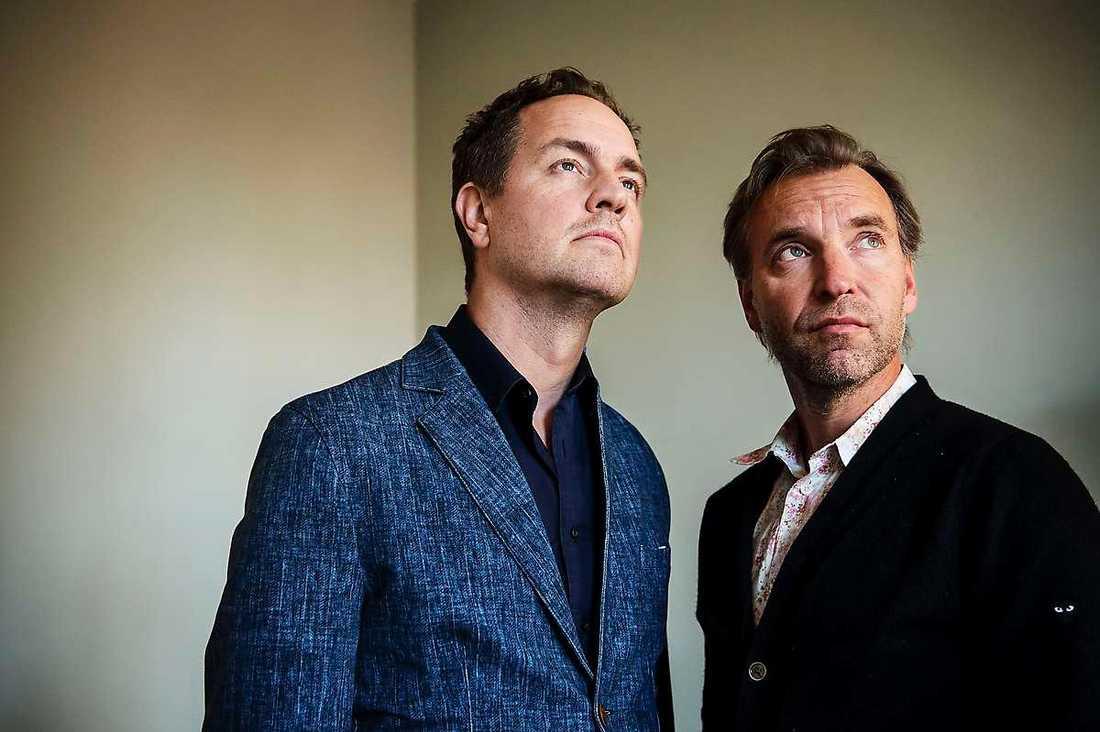 """Björn Stein och Måns Mårlind använder rasism och fördomar som klangbotten i nya thrillern """"Midnattssol""""."""