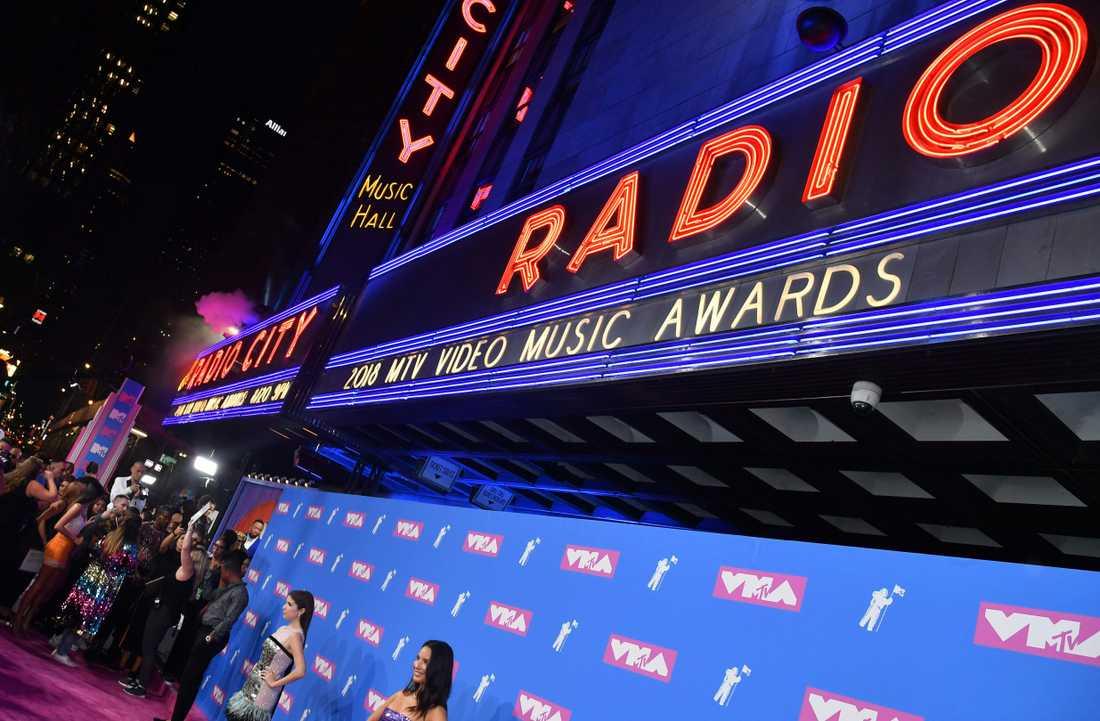 MTV-galan hölls i New York i natt.