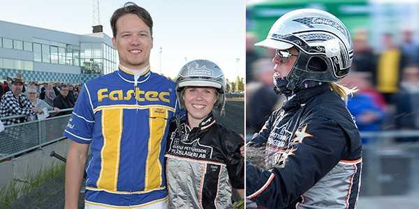 Oscar Berglund och Emilia Leo.