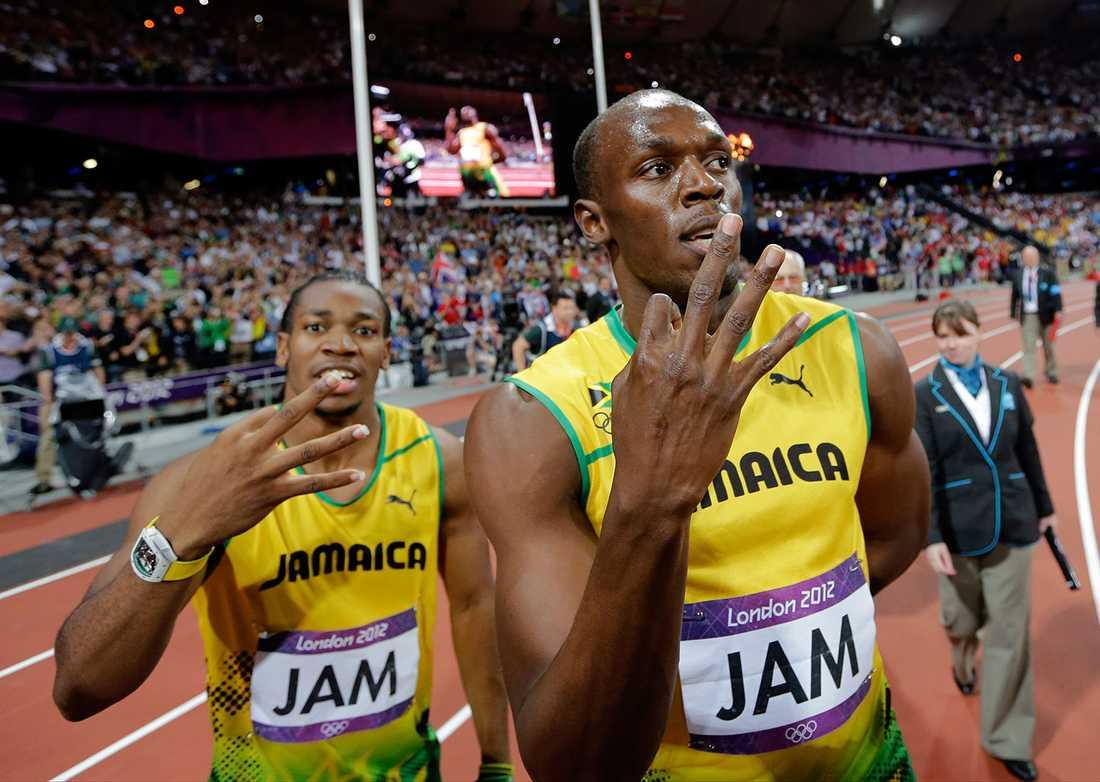 ...medan Bolt skulle få springa i Saudiarabien (men han har nog slutat då).