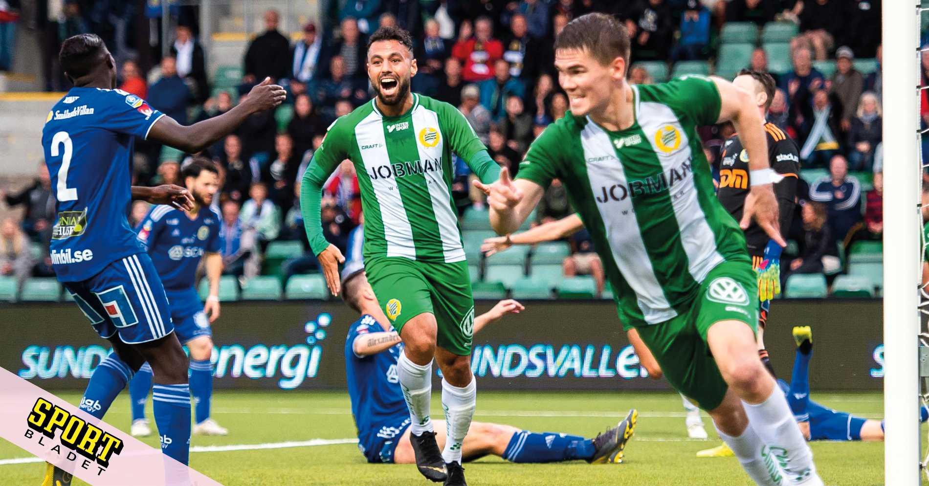 Hammarby slog Sundsvall med 3-2 i allsvenskan