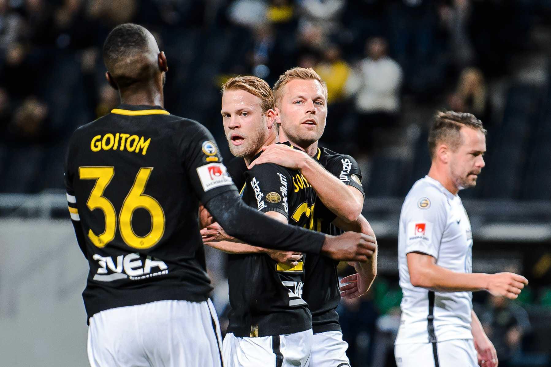 AIK slog J-Södra i svenska cupen.