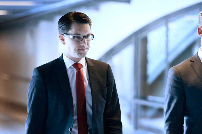 Jimmie Åkessons utmattningssymptom var allvarliga, enligt SD:s vikarierande partiledare Mattas Karlsson.