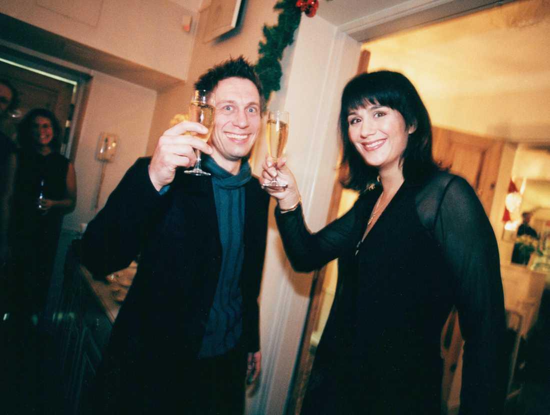 Alexandra Zazzi och Peter Jademyr år 1998.