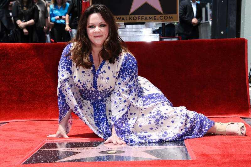 HOLLYWOODS NYA STJÄRNA I slutet av maj fick Melissa McCarthy det ultimata beviset för sin framgång: en egen stjärna på Hollywood Walk of fame.