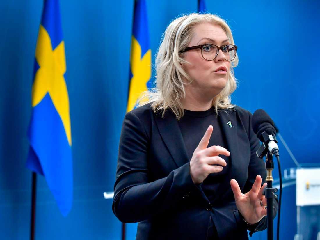Socialminister Lena Hallengren. Arkivbild.