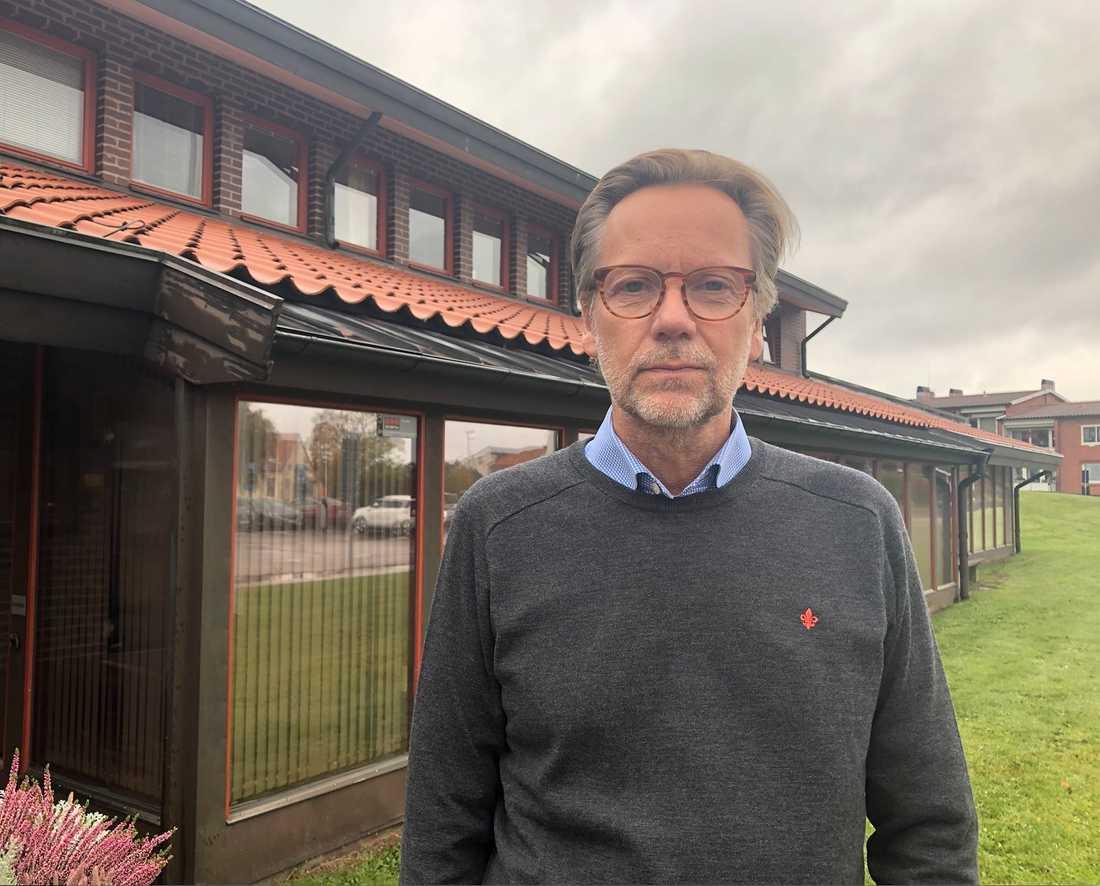 Erik Lidberg, kommundirektör i Båstad kommun.