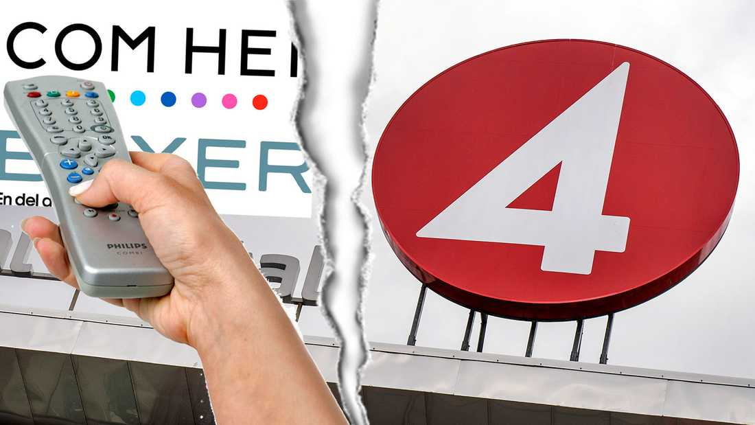 TV4-gruppens kanaler riskerar att släckas för Com Hem och Boxer-kunder.