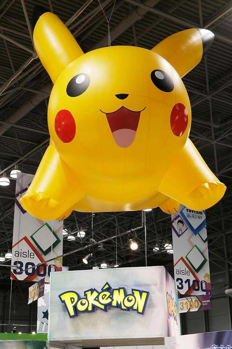 Pikachu är den mest kända pokémonfiguren.