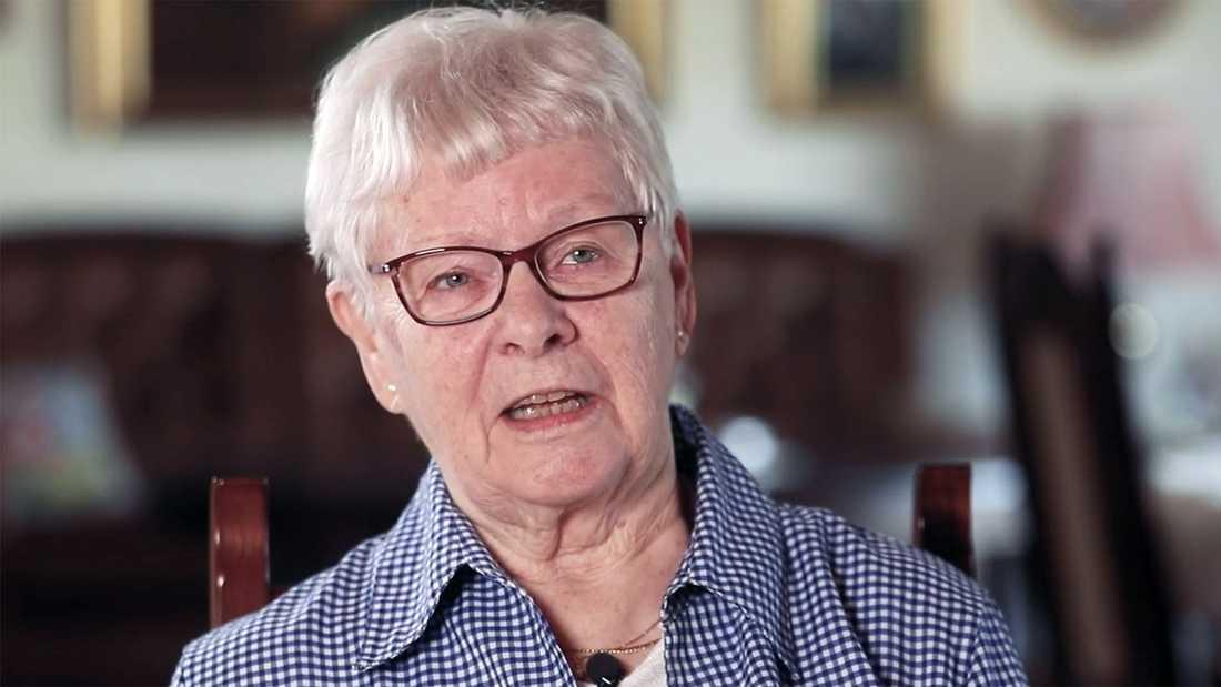 Maj-Britt, 80, blev lurad på sina livsbesparingar.