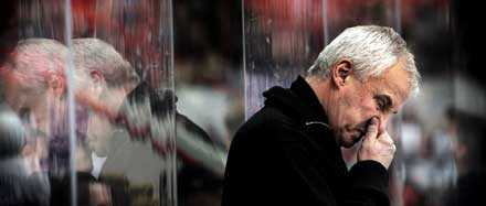 Tung smäll. Leksand förlorade hemma mot Malmö med 1–5 i kväll, en ny tung förlust i kvalserien.