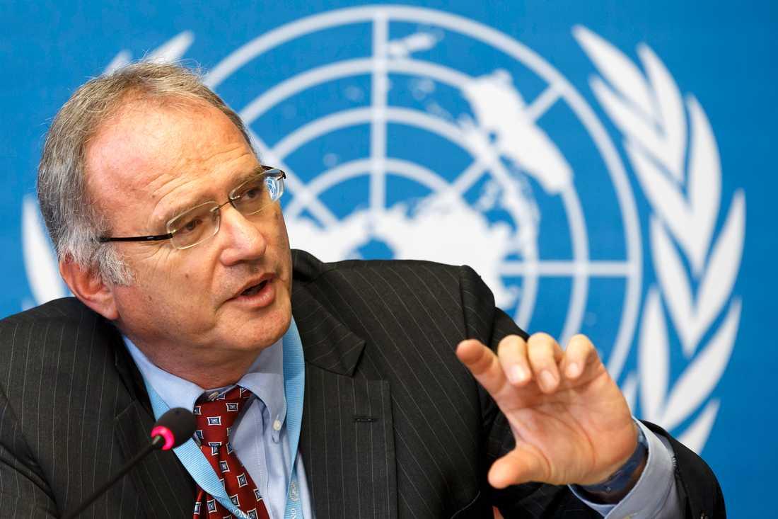 Den sydafrikanske professorn Christof Heyns är ledamot av FN:s kommitté för mänskliga rättigheter. Arkivbild.