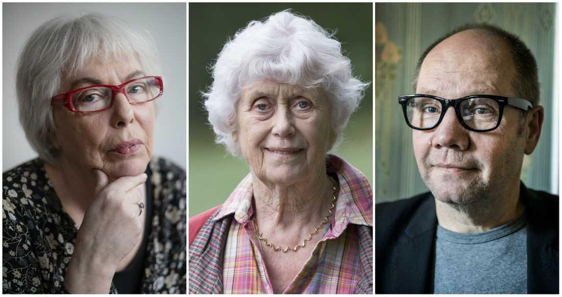 Yvonne Hirdman, Kerstin Ekman och Peter Englund har skrivit de svenska böckerna som får priset Skandinavisk sakprosa.