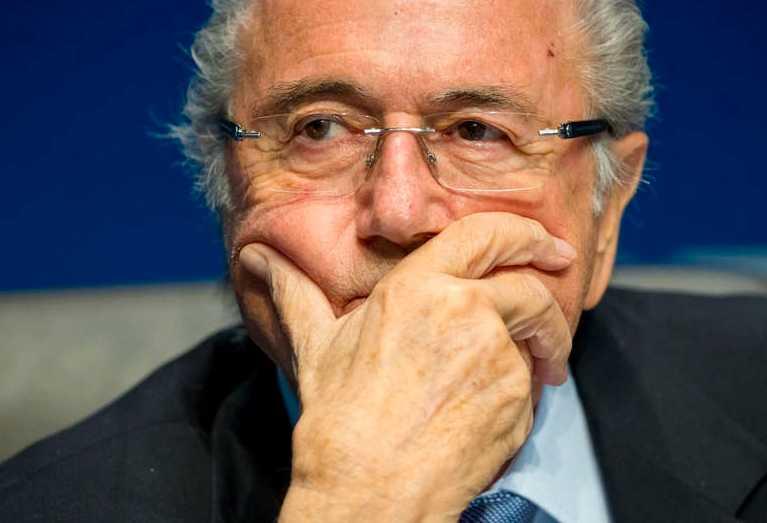 Ett tungt slag för Sepp Blatter och hans Fifa.
