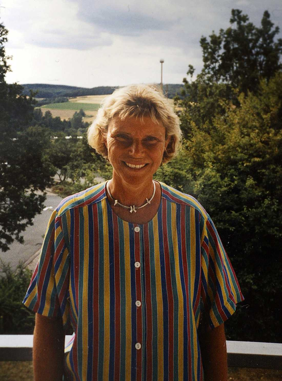 Anna-Lena Svensson, 56, såg troligtvis mordet och försökte fly.