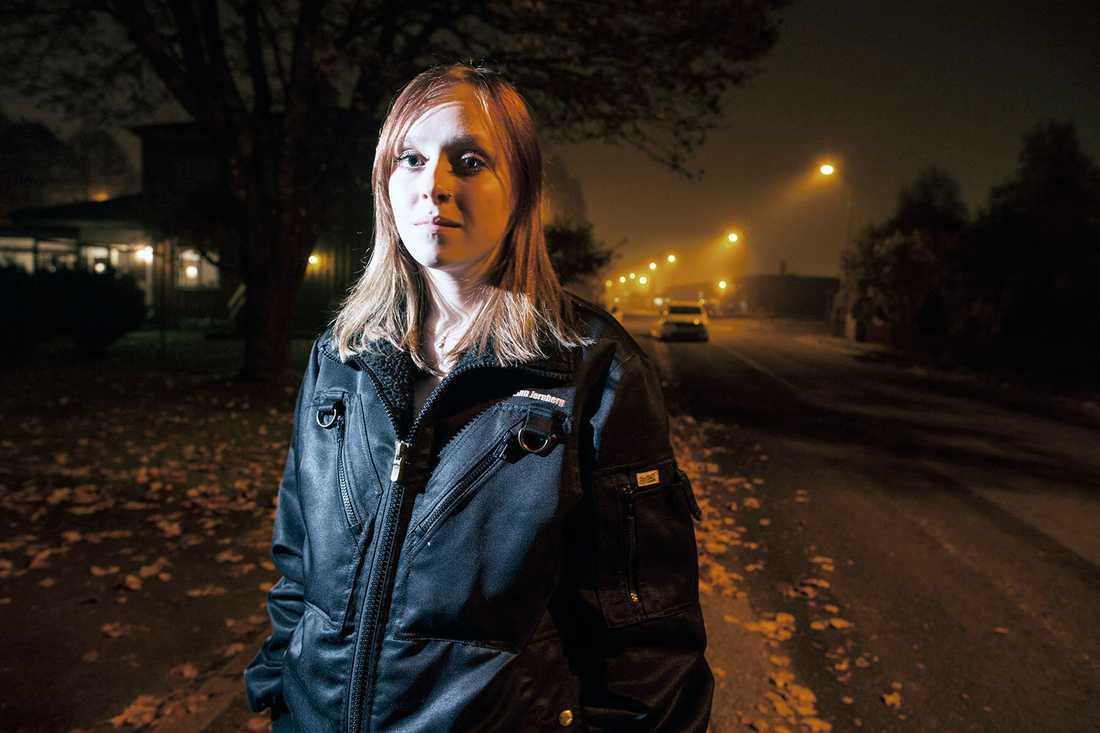 Linn Jernberg fick köras till intensiven en allergichock.