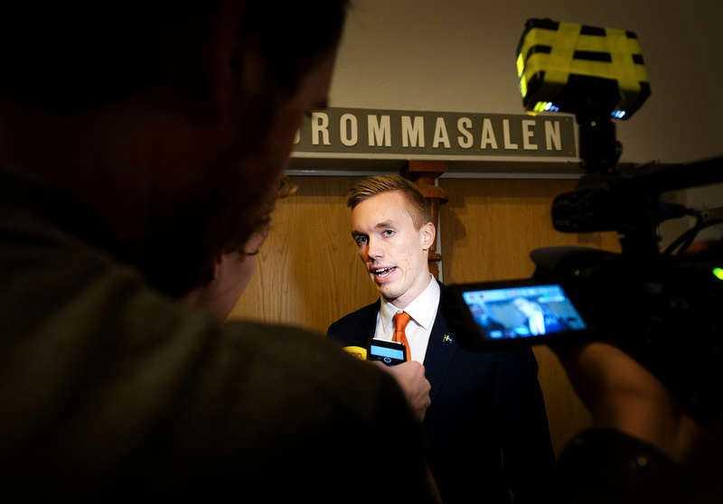 William Hahne, vice partiledare för Alternativ för Sverige