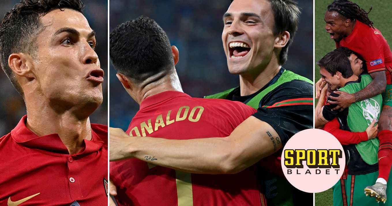 Cristiano Ronaldo tangerade galna rekordet