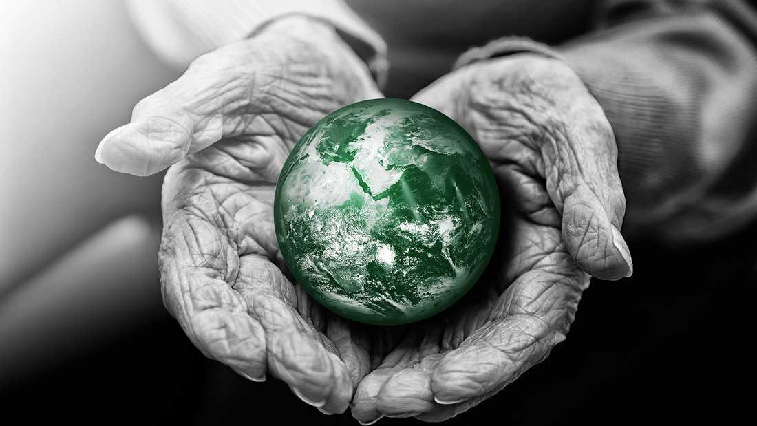 I människans händer har jorden tagit mycket stryk.