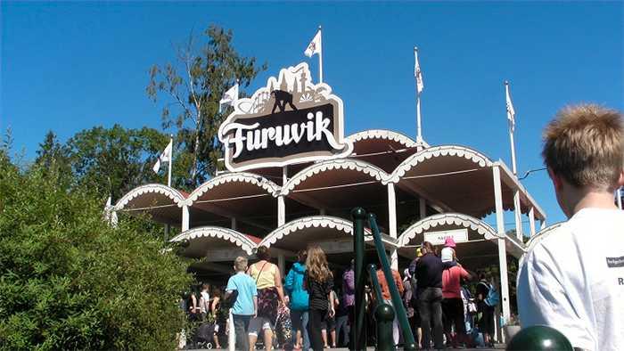 I Furuviksparken bor 40 olika djurarter. Här finns även ett tivoli med attraktioner både för de små och stora barnen.